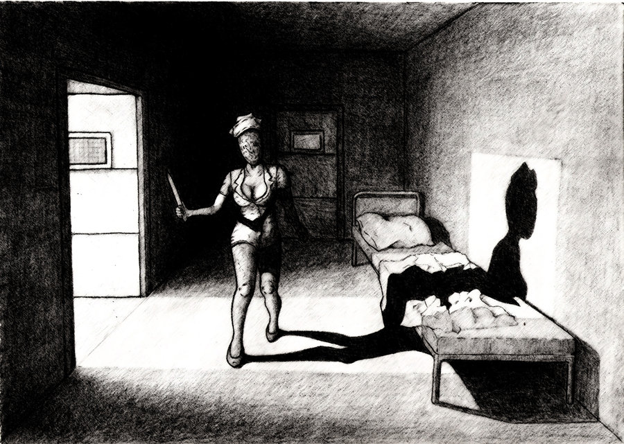Dark coloring #13, Download drawings