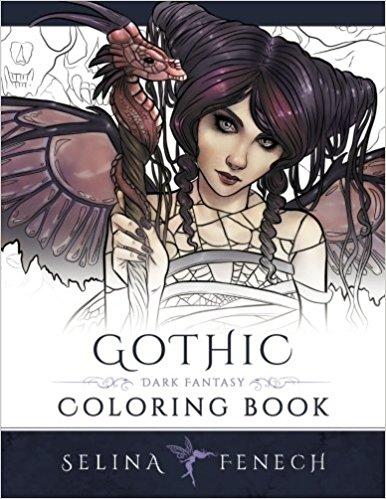Dark coloring #6, Download drawings