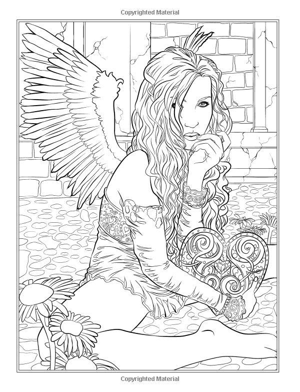 Dark coloring #19, Download drawings