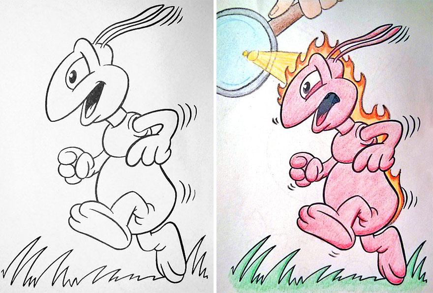 Dark coloring #12, Download drawings