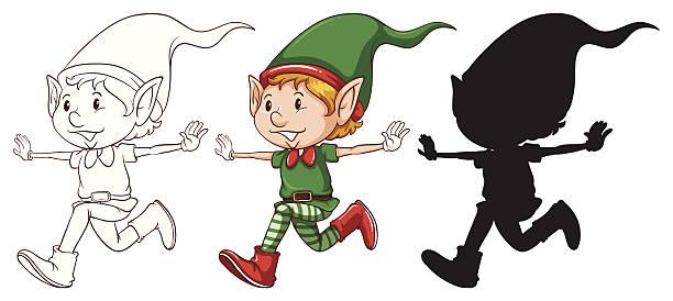 Dark Elf clipart #2, Download drawings