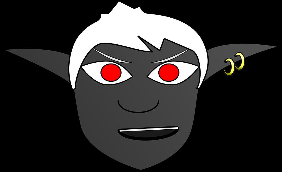 Dark Elf svg #4, Download drawings