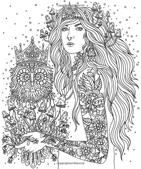 Dawn coloring #18, Download drawings