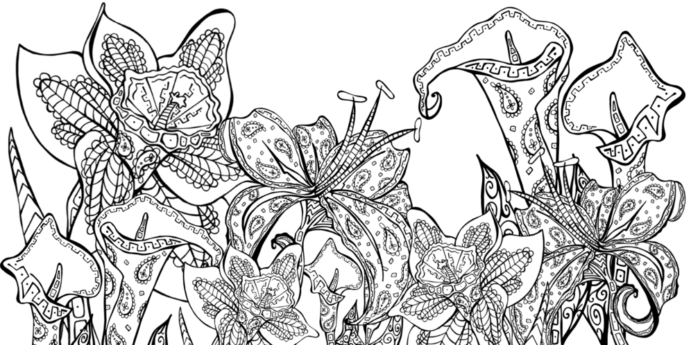 Daydreams coloring #1, Download drawings