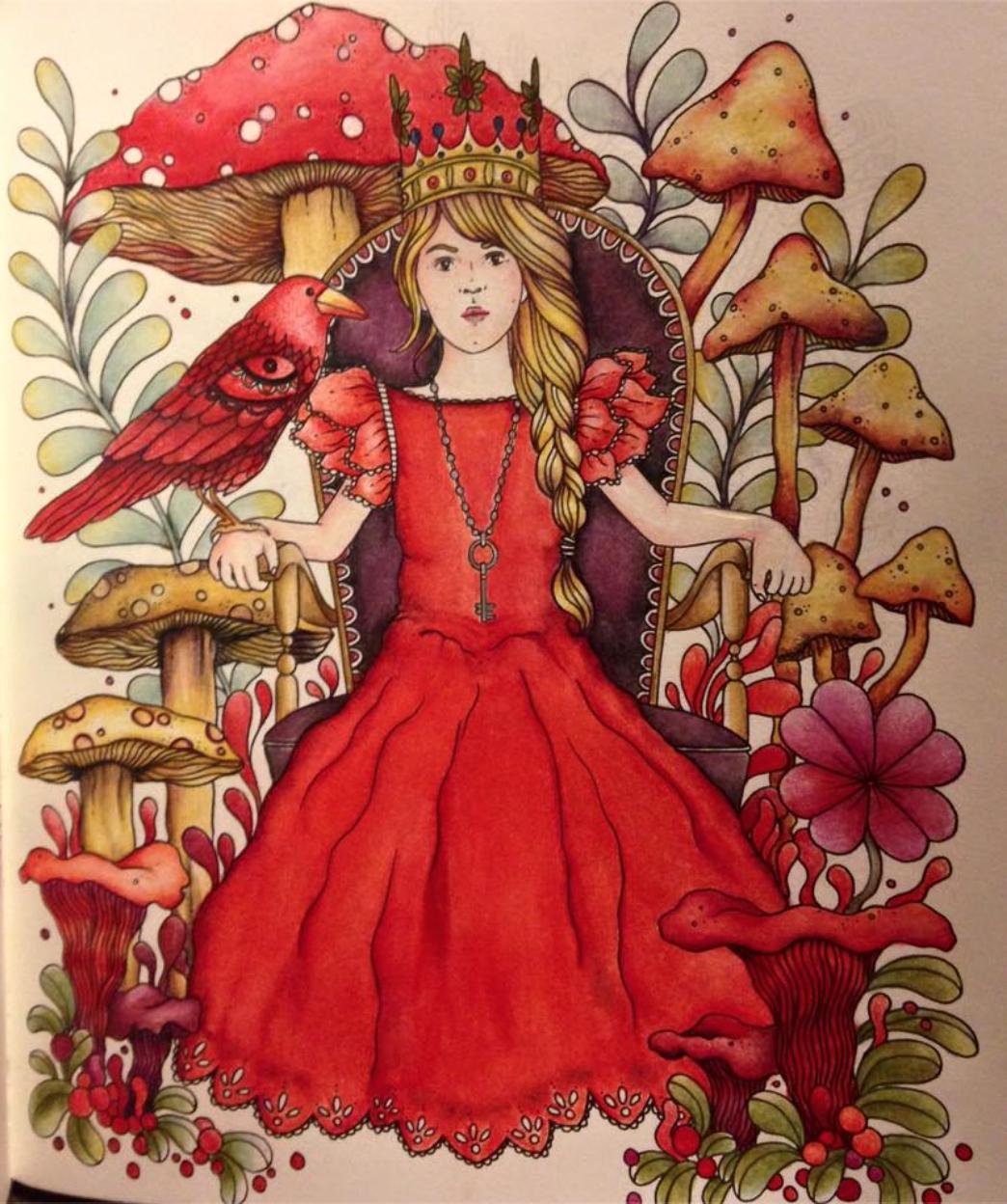 Daydreams coloring #3, Download drawings