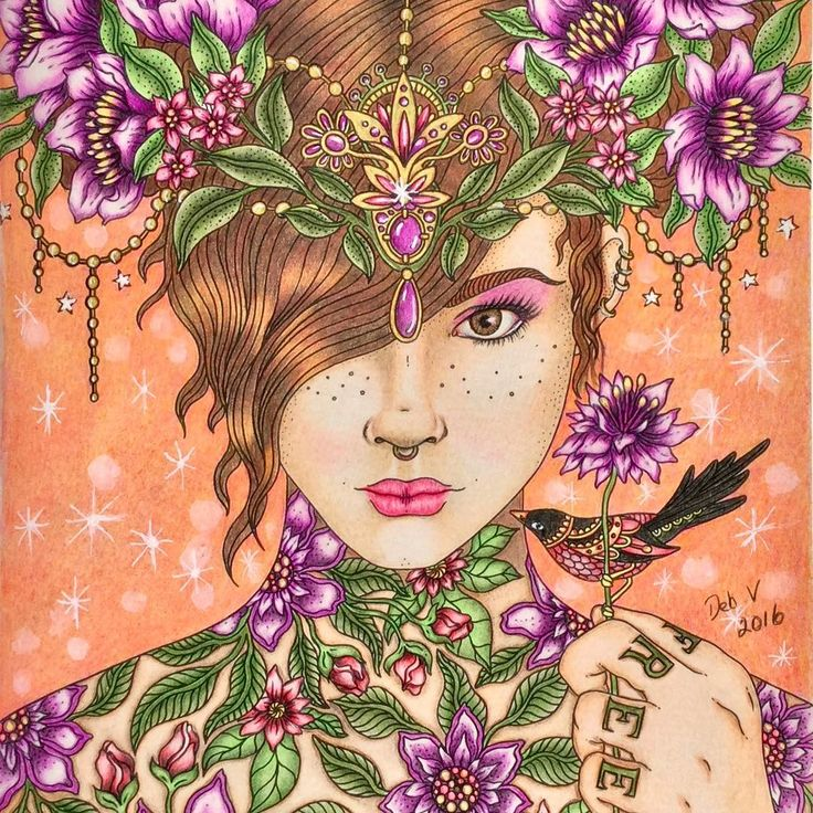 Daydreams coloring #10, Download drawings