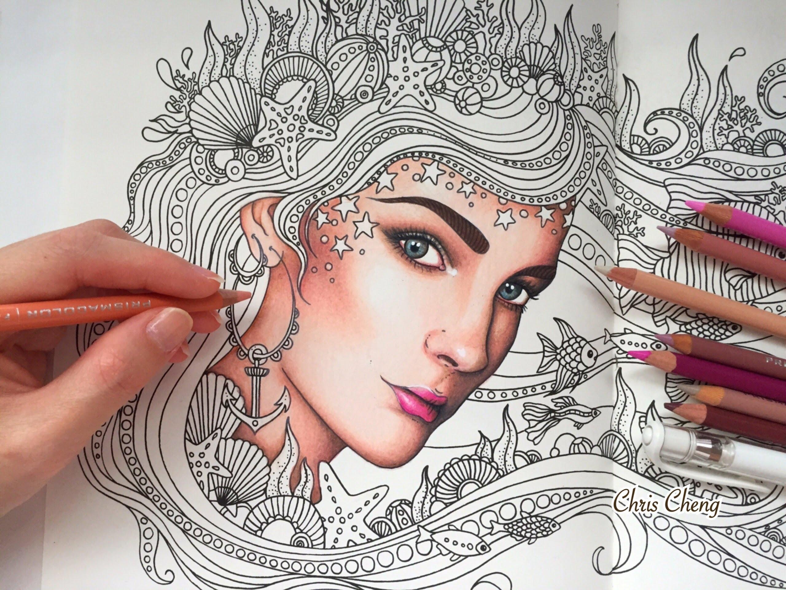 Daydreams coloring #14, Download drawings