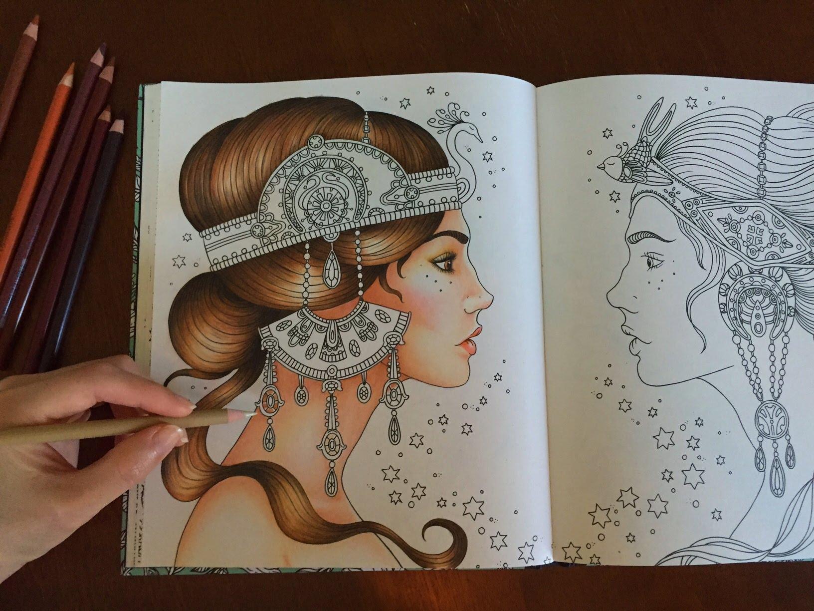 Daydreams coloring #13, Download drawings