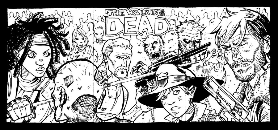 Dead coloring #5, Download drawings