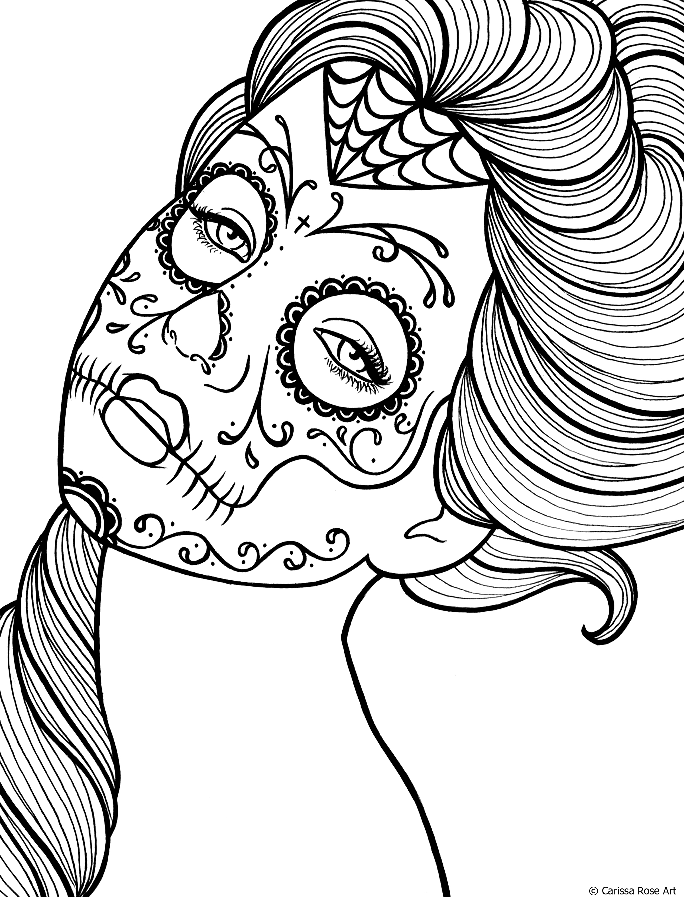 Dead coloring #6, Download drawings