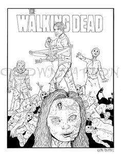 Dead coloring #15, Download drawings
