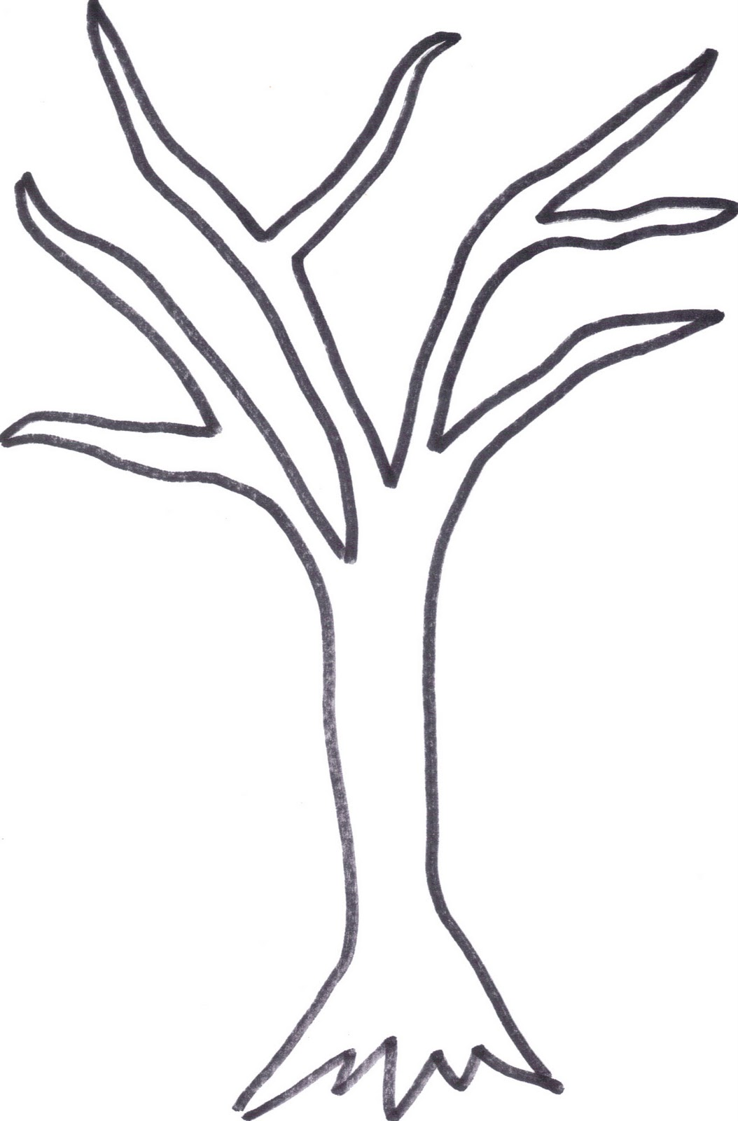 Dead Tree coloring #2, Download drawings