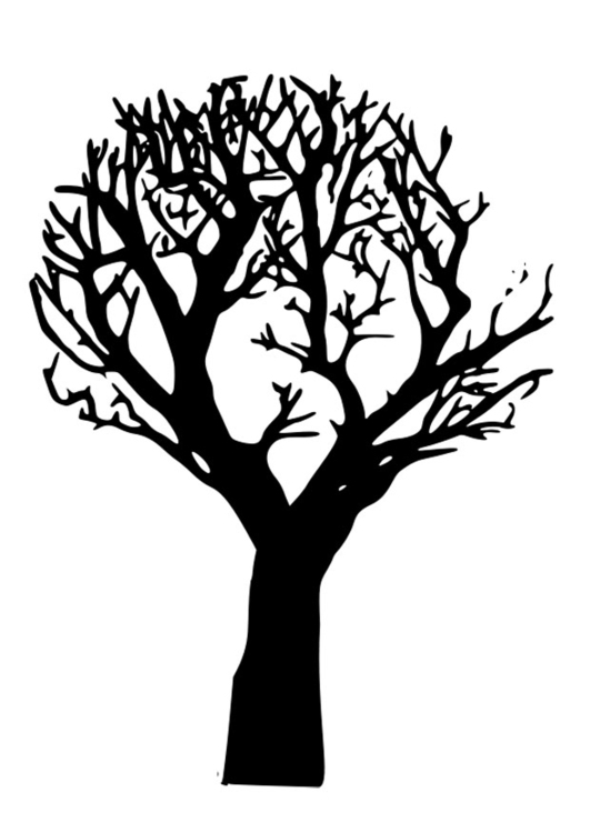 Dead Tree coloring #1, Download drawings