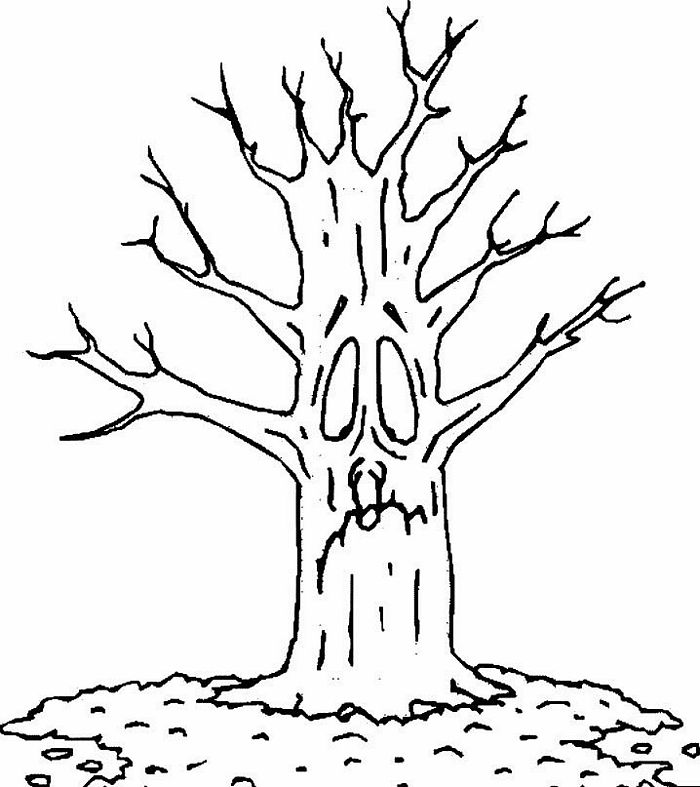 Dead Tree coloring #9, Download drawings