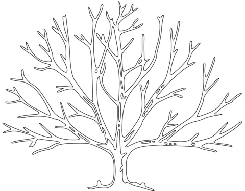 Dead Tree coloring #10, Download drawings