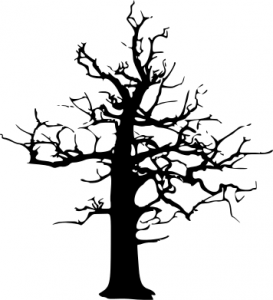 Dead Tree Dark Abstract clipart #1, Download drawings