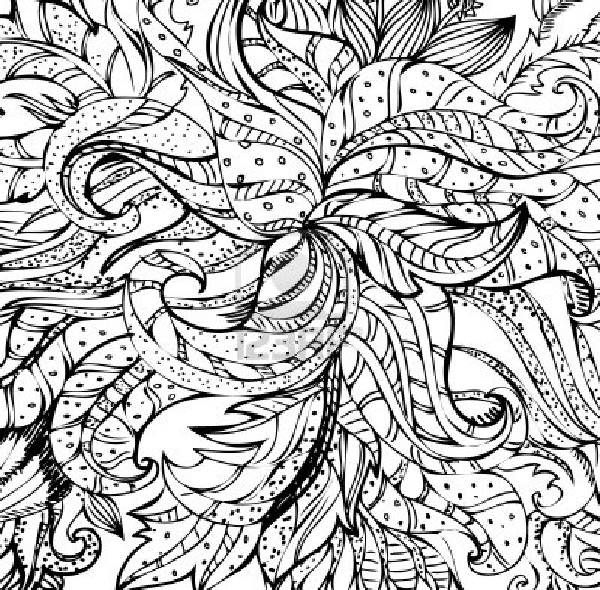 abstract trees coloring pages - photo#12