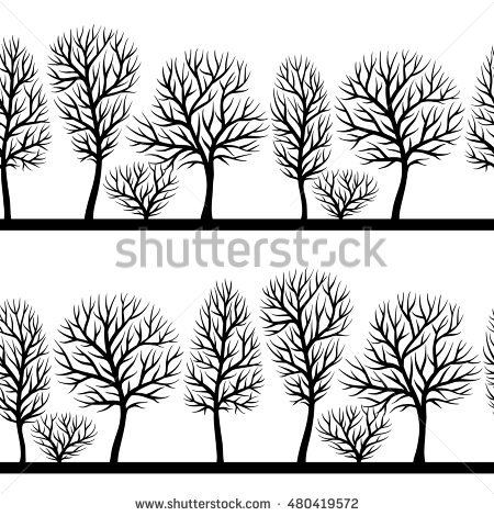 abstract trees coloring pages - photo#40