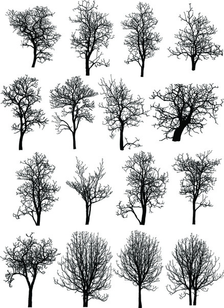 Dead Tree Dark Abstract svg #7, Download drawings