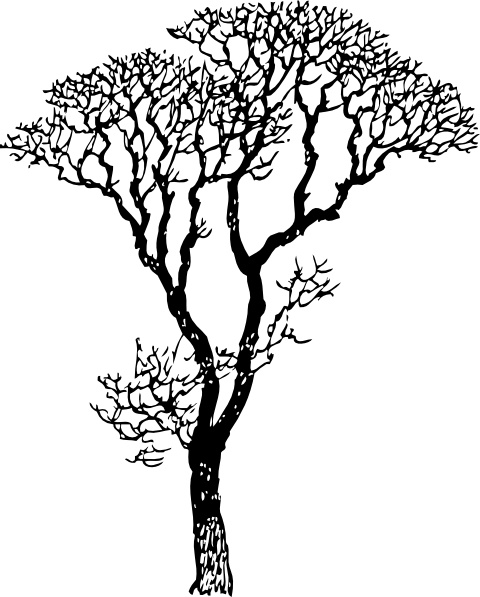 Dead Tree Dark Abstract svg #5, Download drawings