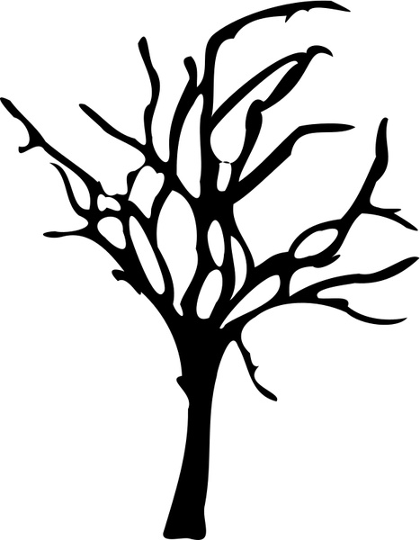 Dead Tree Dark Abstract svg #19, Download drawings