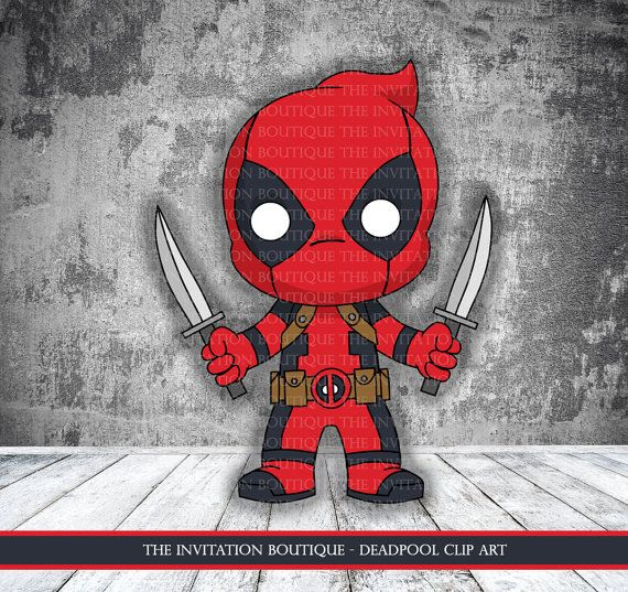 Deadpool clipart #9, Download drawings