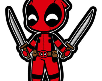 Deadpool clipart #2, Download drawings