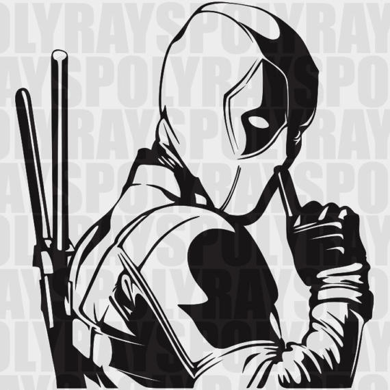 Deadpool svg #8, Download drawings