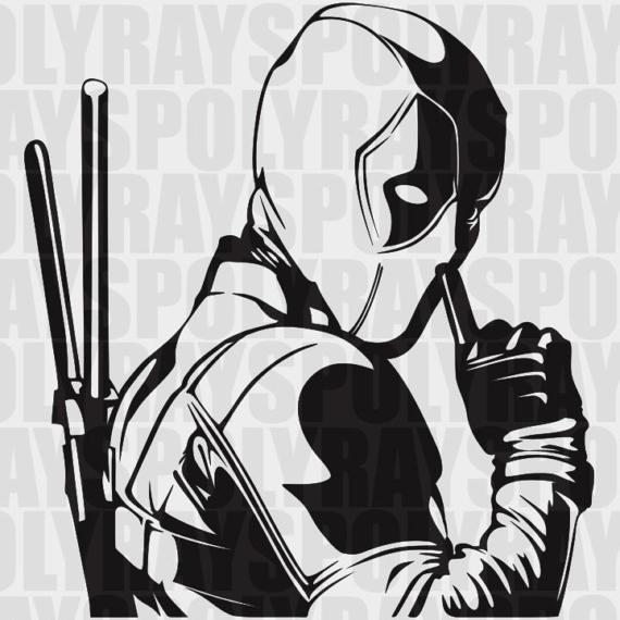 Deadpool svg #8, Download drawings