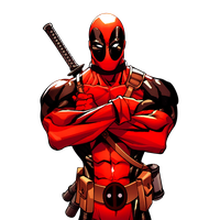 Deadpool clipart #5, Download drawings