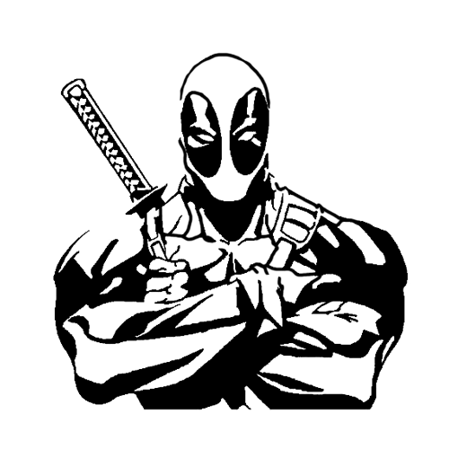 Deadpool clipart #19, Download drawings