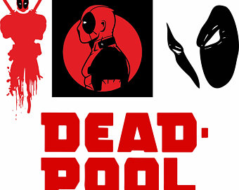 Deadpool svg #1, Download drawings