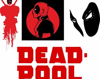 Deadpool svg #1, Download drawings