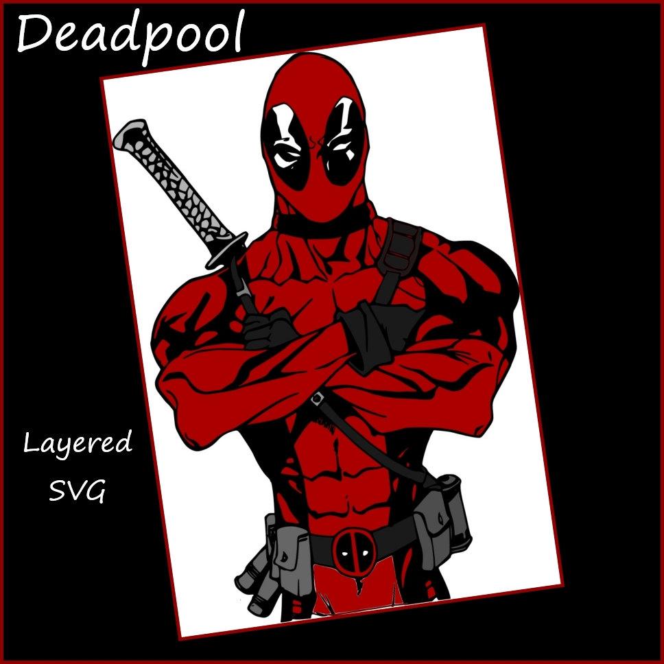 Deadpool svg #6, Download drawings