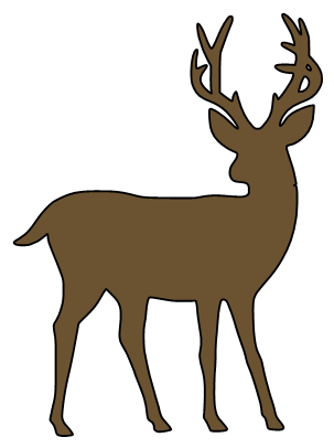 White-tailed Deer svg #15, Download drawings