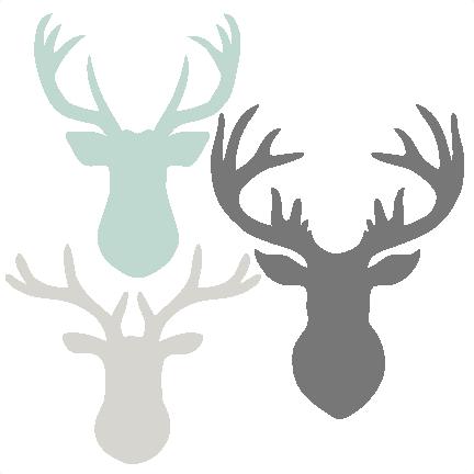 deer head svg free #447, Download drawings