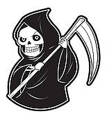 Death clipart #5, Download drawings