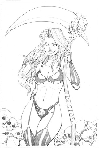 Goddess coloring #7, Download drawings