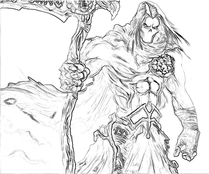 Death coloring #15, Download drawings