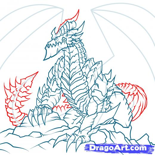 Deathwing (World Of Warcraft) coloring #15, Download drawings