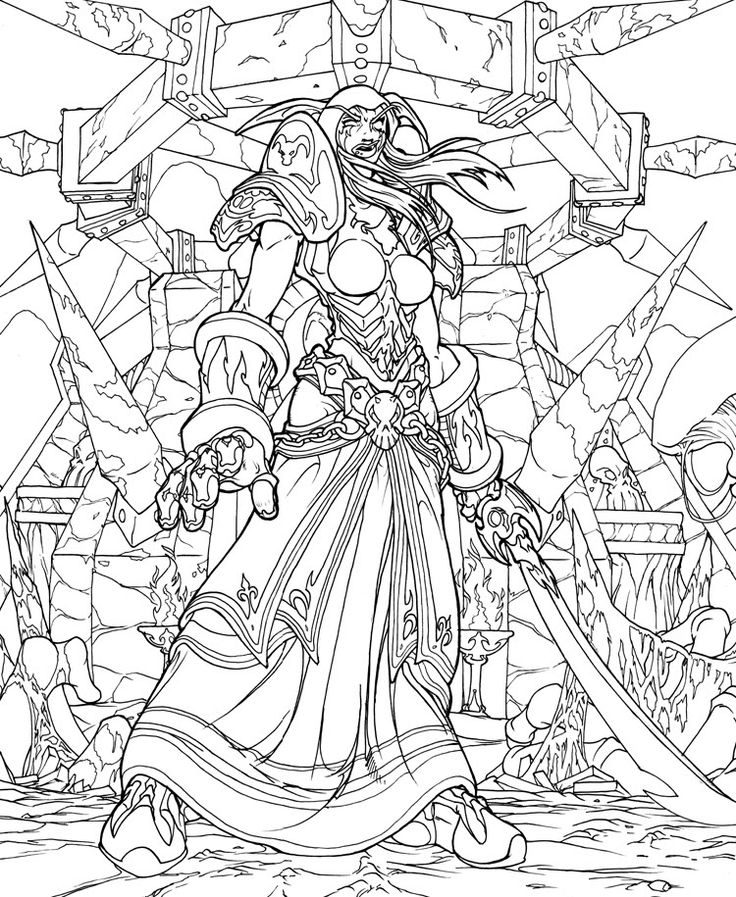 World Of Warcraft coloring #16, Download drawings