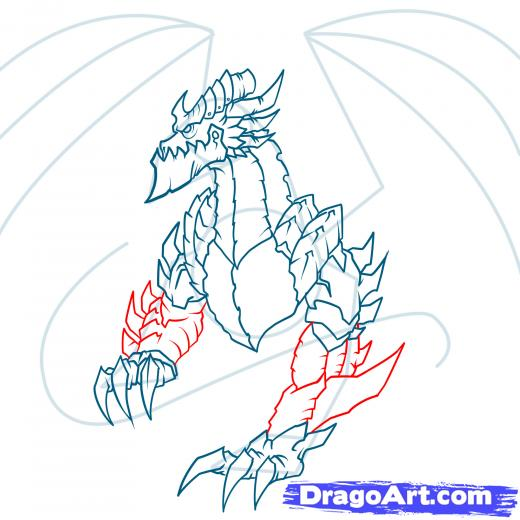 Deathwing (World Of Warcraft) coloring #8, Download drawings