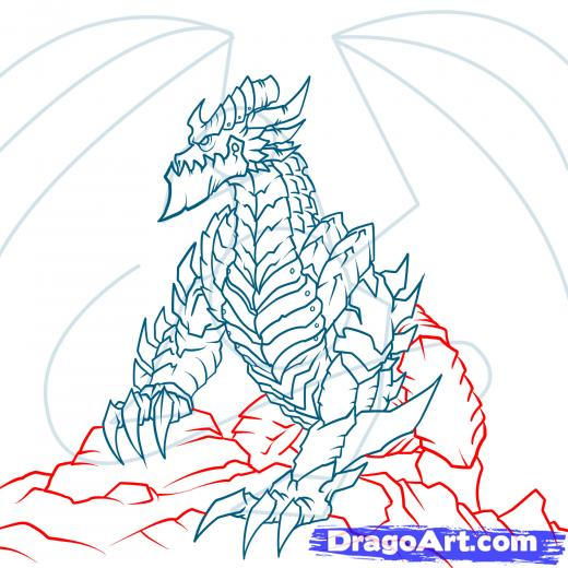 Deathwing (World Of Warcraft) coloring #6, Download drawings