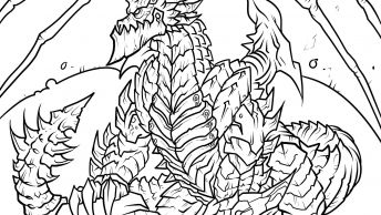 Deathwing (World Of Warcraft) coloring #9, Download drawings