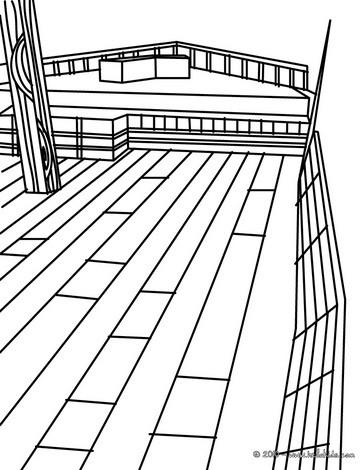 Deck coloring #15, Download drawings