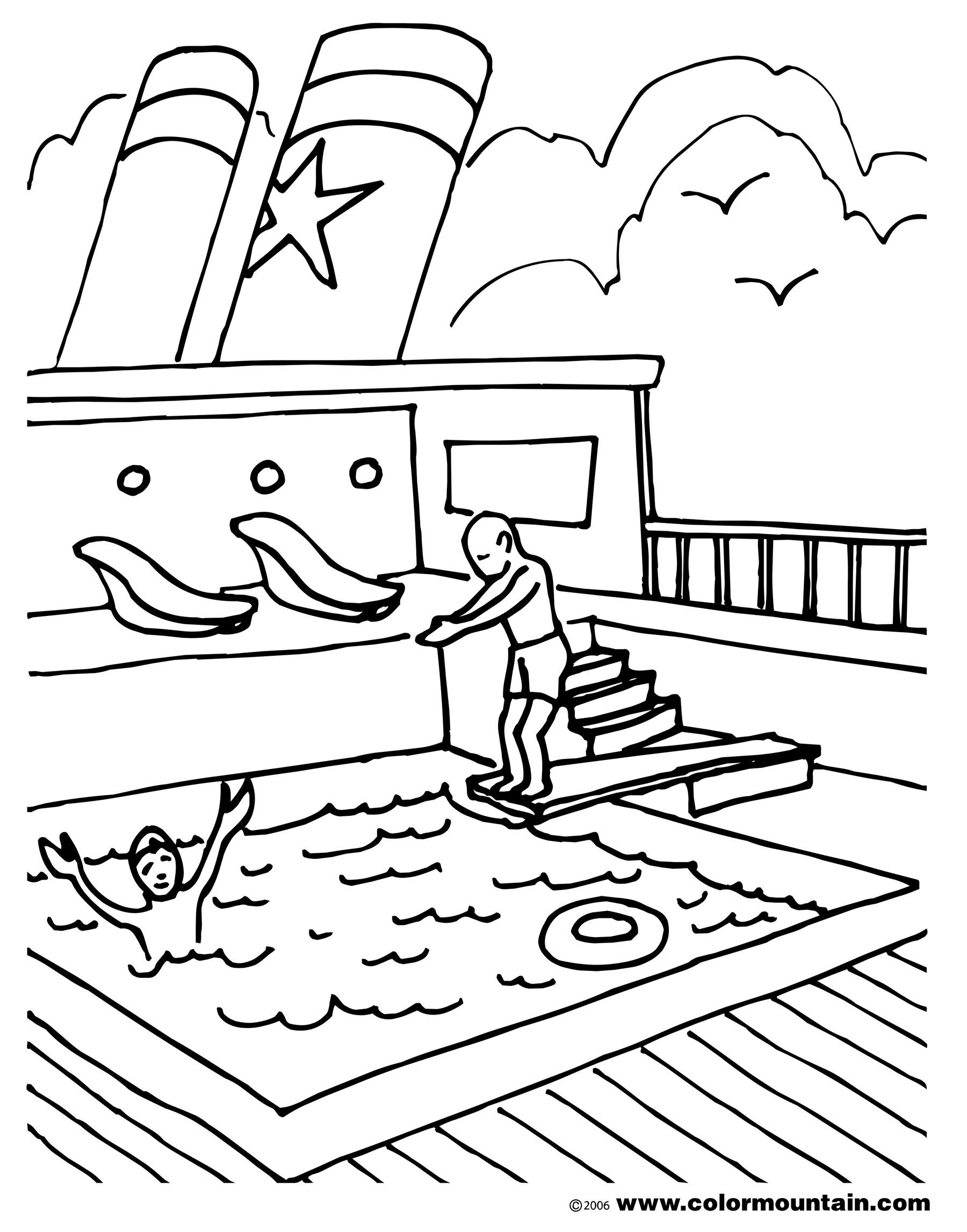 Deck coloring #3, Download drawings