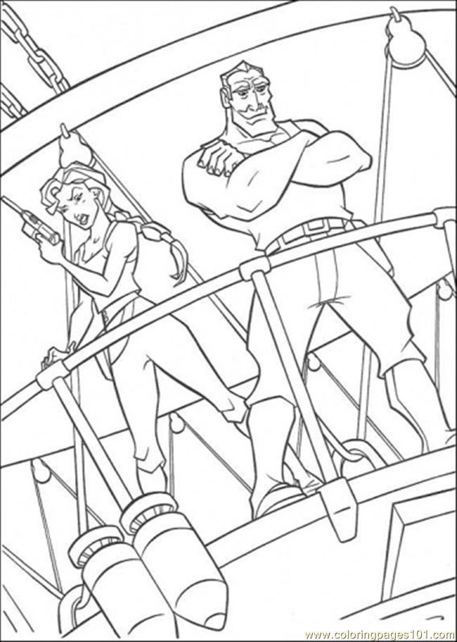 Deck coloring #5, Download drawings