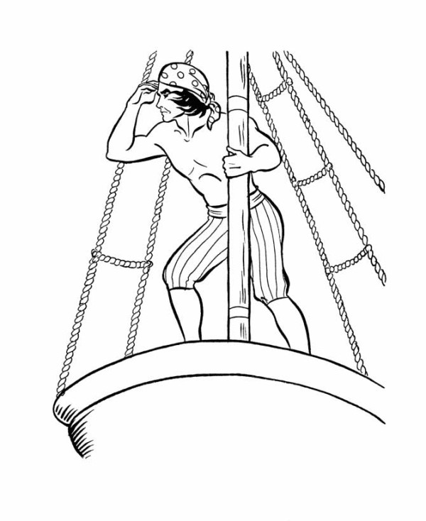 Deck coloring #18, Download drawings