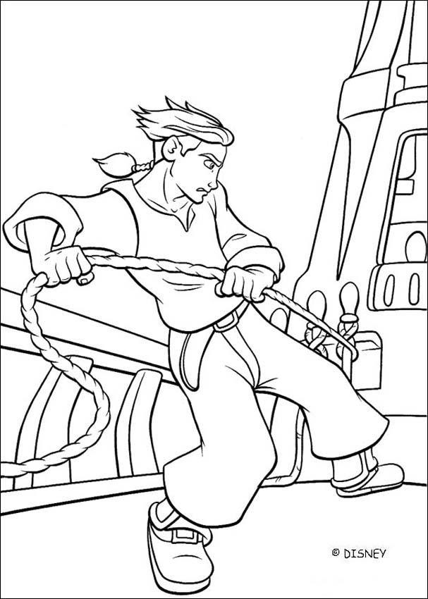 Deck coloring #9, Download drawings