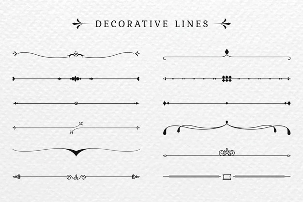 decorative line svg #944, Download drawings